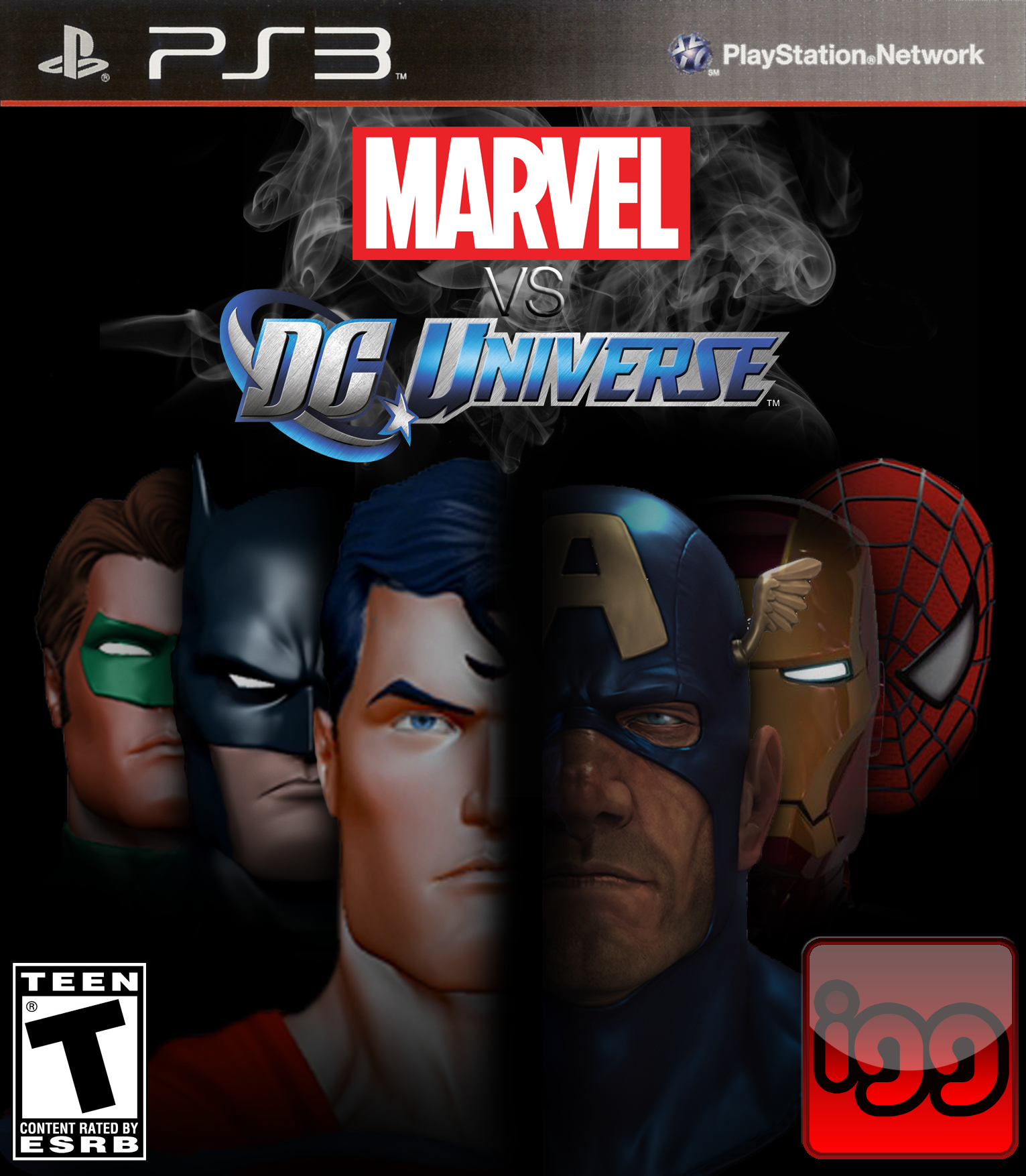 How this would work as a game marvel vs dc universe
