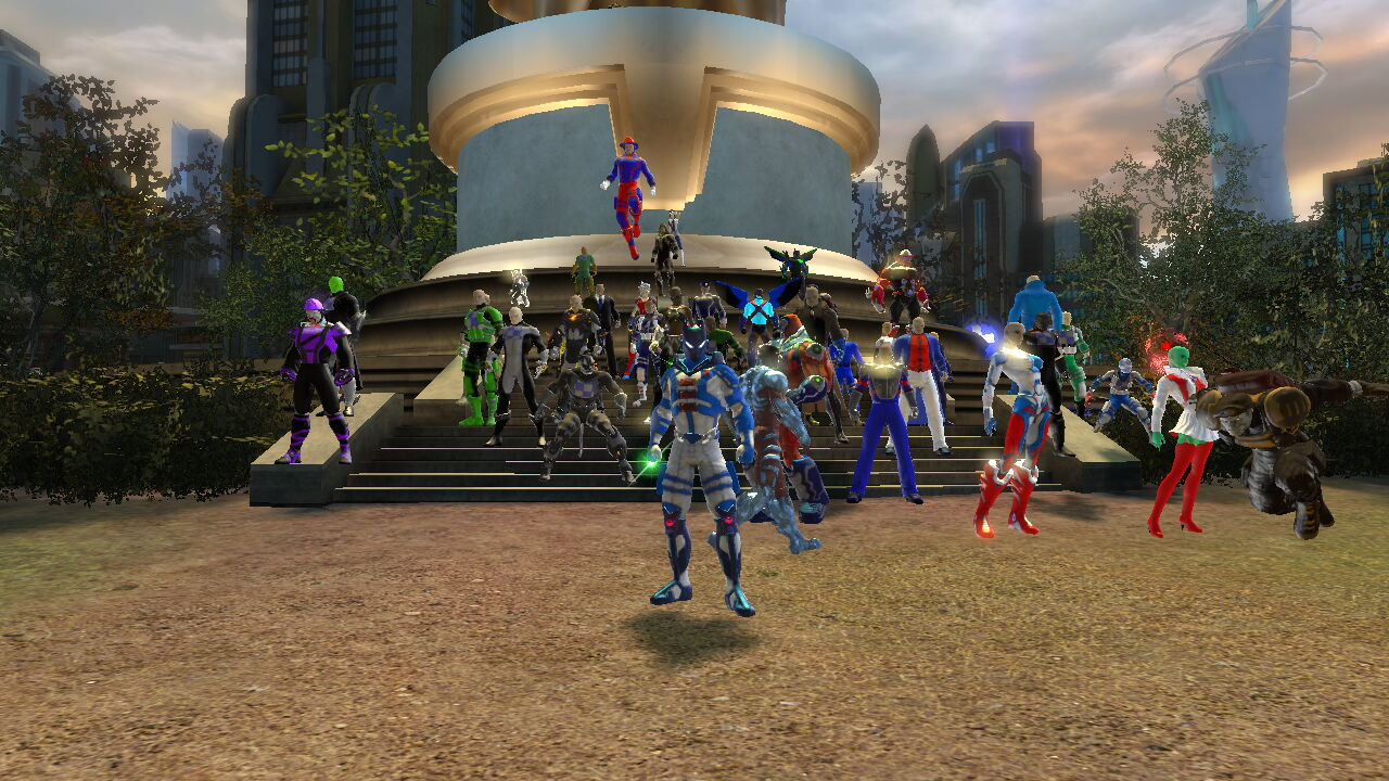 DC Universe Online Players Gather To Honor 9/11 Victims